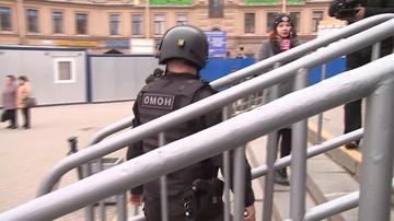 06-04-2017 10:30 Ładunek wybuchowy w Petersburgu. Unieszkodliwiła go policja