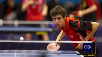 2016-11-11 WT w tenisie stołowym: Porażka Dyjasa w 1. rundzie