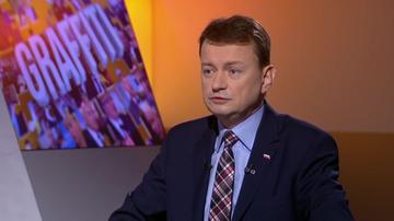 01-12-2015 09:37 Błaszczak o TK: nie ma odcięcia od polityki