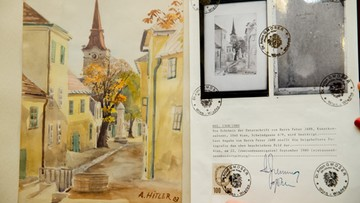 Obrazy Hitlera sprzedane za 40 tys. euro
