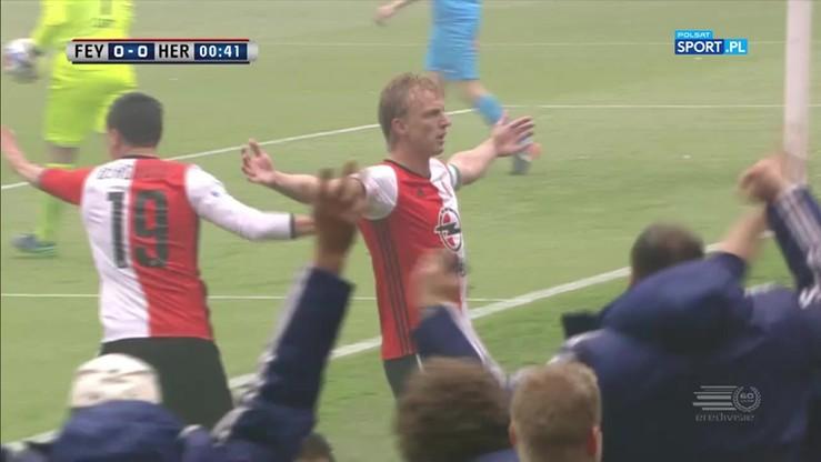 Kuyt odpalił armatę w 1 minucie! Feyenoord na prowadzeniu w meczu o tytuł