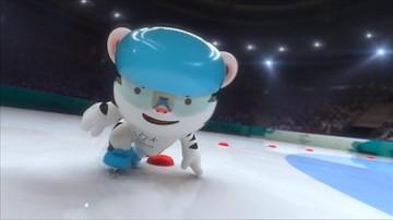 02-11-2017 17:48 Biały tygrys w bobsleju i jako skoczek narciarski. Zobacz klip promujący zimowe IO w Pjongczangu