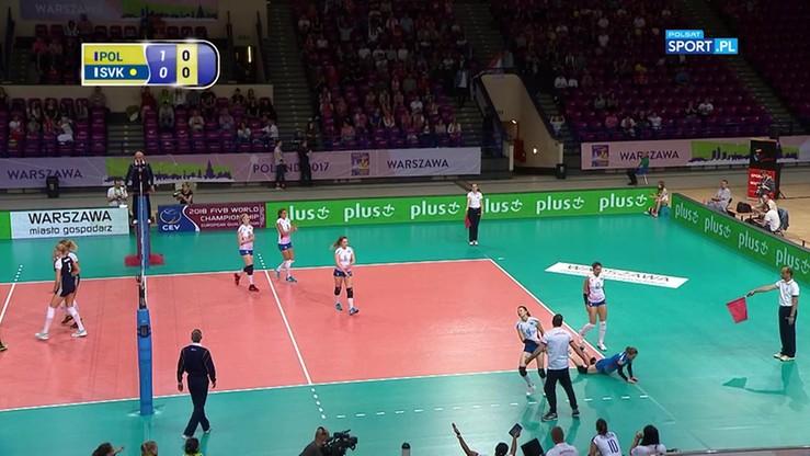 Perfekcyjny początek seta Polek! 11:0 ze Słowacją