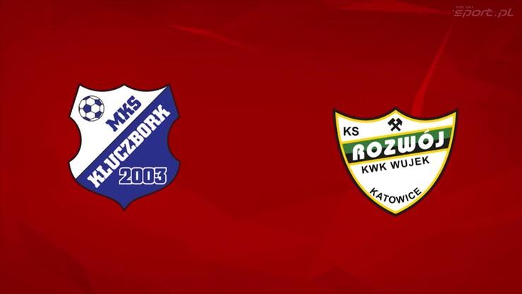 2016-05-12 MKS Kluczbork - Rozwój Katowice 1:0. Skrót meczu