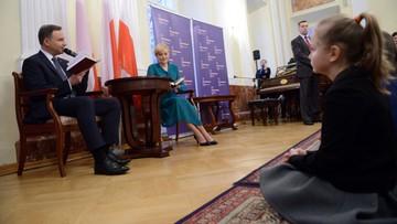 14-03-2016 20:23 Praga: prezydent Duda wizytę w Czechach rozpoczął od spotkania z Polonią