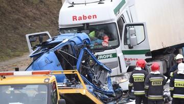 21-02-2017 09:43 Wypadek na A1. Jedna osoba nie żyje. Wznowiono ruch