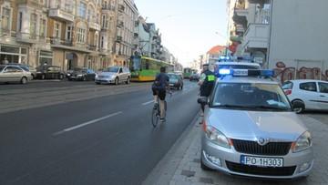 2016-09-15 Poranna kolizja tramwaju i osobówki na ul. Głogowskiej w Poznaniu