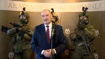 21-11-2016 12:51 Szef MON: obrona terytorialna musi być zdolna stawić czoła specnazowi