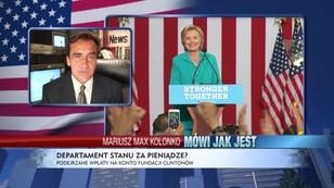 Departament Stanu za pieniądze. Czy Hillary Clinton była skorumpowana?