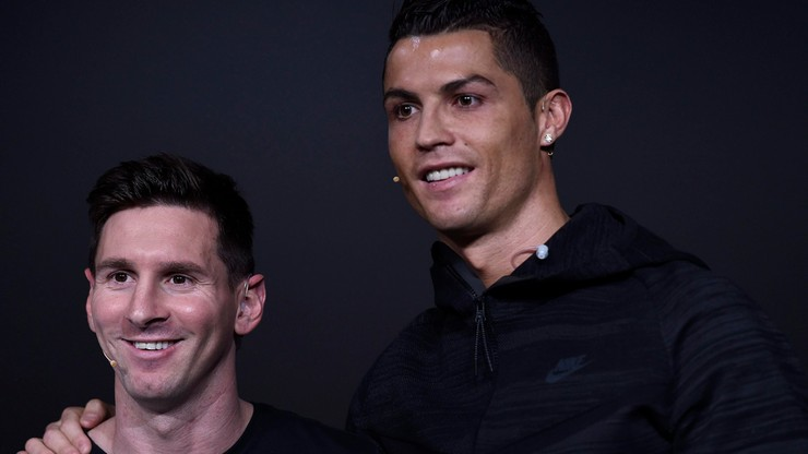 Nazwisko Messiego na pomniku… Cristiano Ronaldo