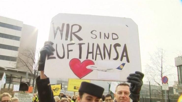 Odwołano strajk personelu kabinowego Lufthansy