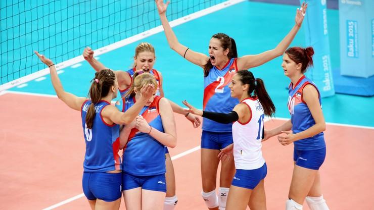 Brązowy medal dla Serbii