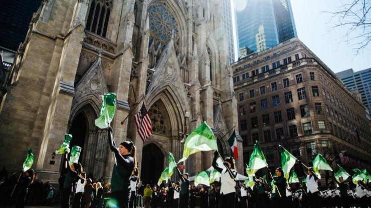 2 miliony widzów na nowojorskiej paradzie św. Patryka