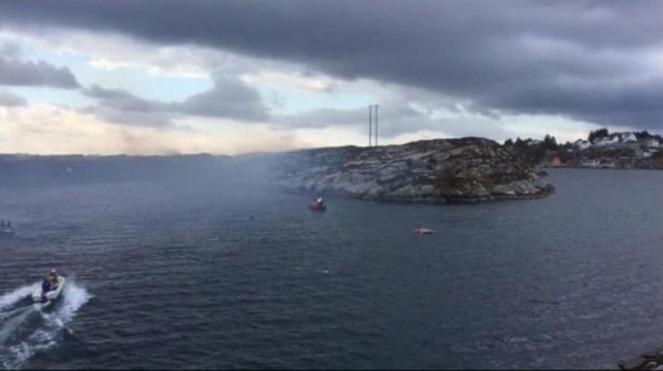 Katastrofa śmigłowca w Norwegii. Zginęło 13 osób