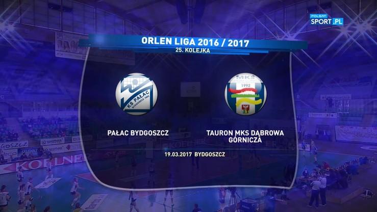 Pałac Bydgoszcz - Tauron MKS Dąbrowa Górnicza 0:3. Skrót meczu