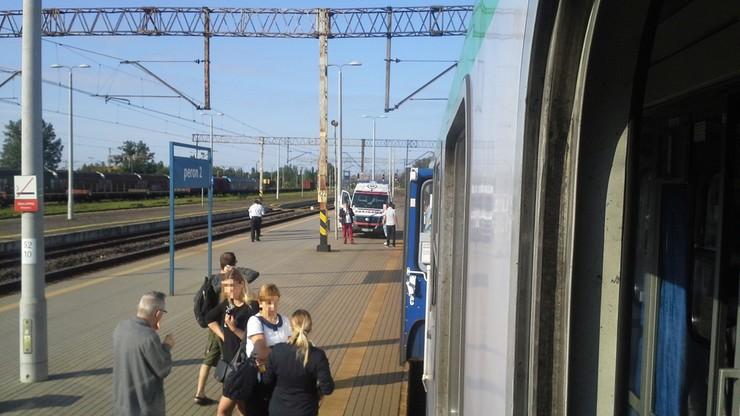 Zgon 75-letniej kobiety w pociągu na trasie Gdynia-Wrocław
