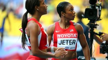 2016-07-01 Rio 2016: Carmelita Jeter zrezygnowała ze startu