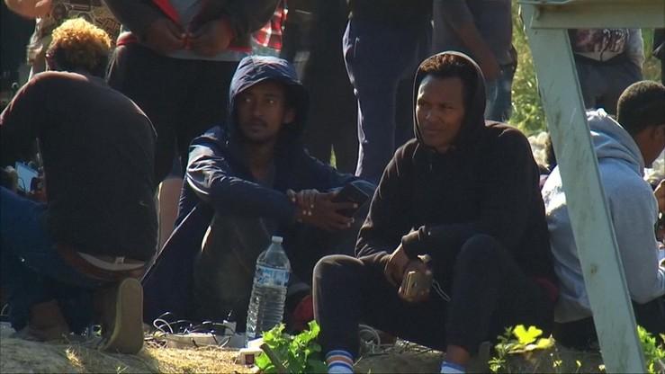 W Paryżu zlikwidowano kilka nielegalnych obozowisk imigrantów