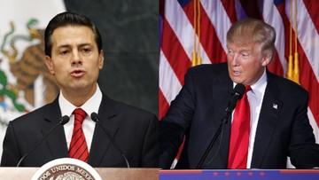 10-11-2016 05:21 Trump rozmawiał z prezydentem Meksyku. Spotka się z nim jeszcze przed objęciem urzędu