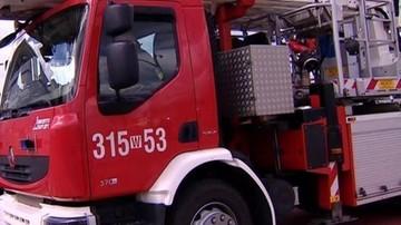 04-09-2017 08:53 Pożar kamienicy we Wrocławiu. 12 osób, w tym ośmioro dzieci, w szpitalu