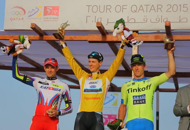 Tour of Qatar: Bodnar zajął 2. miejsce, wyścig wygrał Terpstra