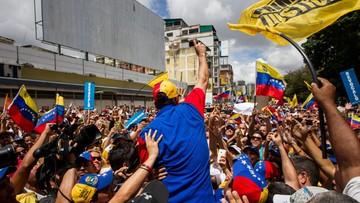 02-09-2016 19:22 Milion Wenezuelczyków protestowało przeciwko prezydentowi Maduro