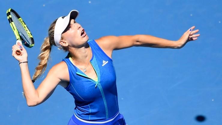 Australian Open: Wozniacki po raz pierwszy w trzeciej rundzie od 2014 roku