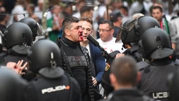 19-10-2016 12:48 Ośmiu rannych po zamieszkach przed meczem Legii z Realem