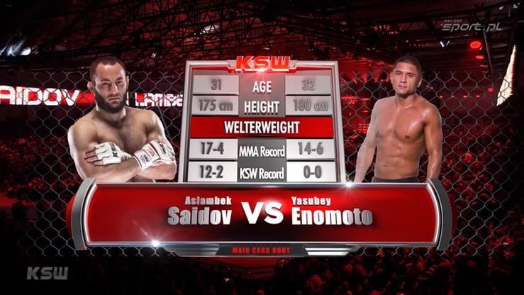 2016-03-05 Aslambek Saidov - Yasubey Enomoto. Skrót walki