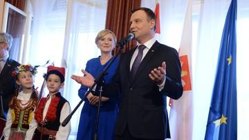18-03-2016 19:10 Duda do Polonii: utrzymywanie więzi jest ogromne ważne