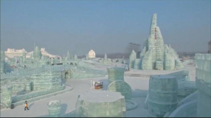 Festiwal lodu w chińskim Harbin