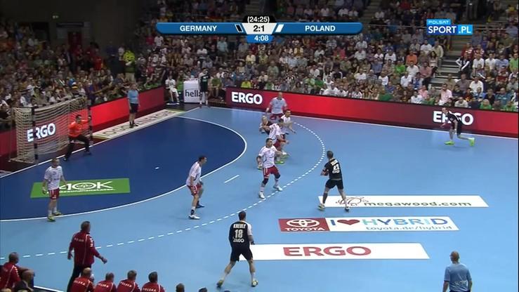 Niemcy - Polska 28:29. Skrót meczu