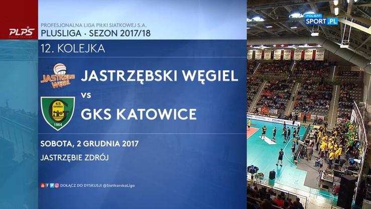 Jastrzębski Węgiel - GKS Katowice 3:1. Skrót meczu
