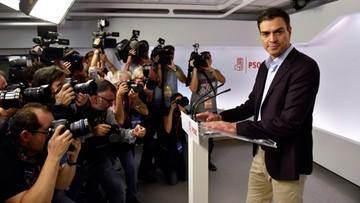 01-10-2016 21:53 Dymisja szefa socjalistów w Hiszpanii. Szansa na stworzenie rządu