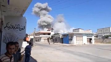 Syria: amerykańskie wojsko atakuje sojuszników Asada