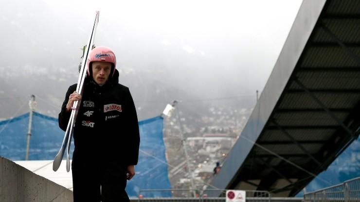 Turniej Czterech Skoczni: Druga seria treningowa w Innsbrucku przerwana
