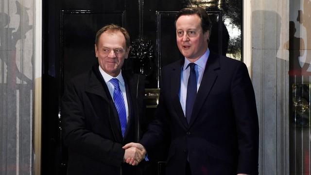 Tusk: Postęp w rozmowach z W. Brytanią; we wtorek projekt porozumienia
