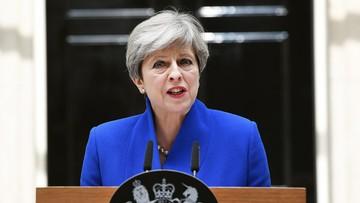 09-06-2017 14:24 Premier May zapowiedziała powołanie nowego rządu