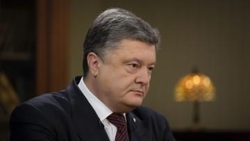 10-04-2016 20:51 Poroszenko liczy na nową koalicję we wtorek