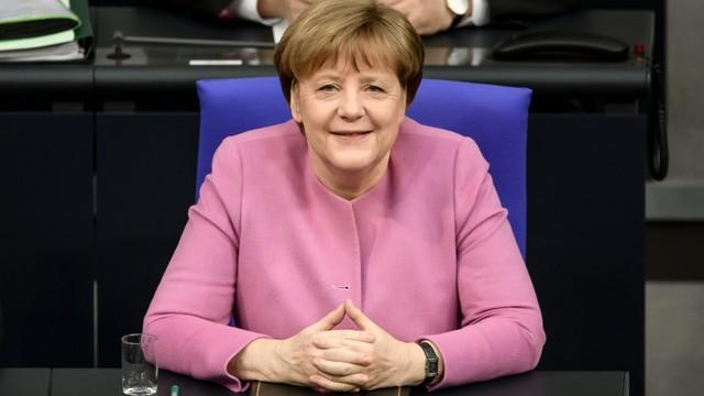 Merkel już się cieszy na kontynuację współpracy z Tuskiem