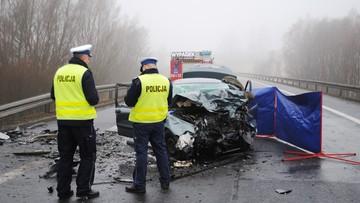 14-02-2016 15:01 Świecie: trzy osoby zginęły w czołowym zderzeniu