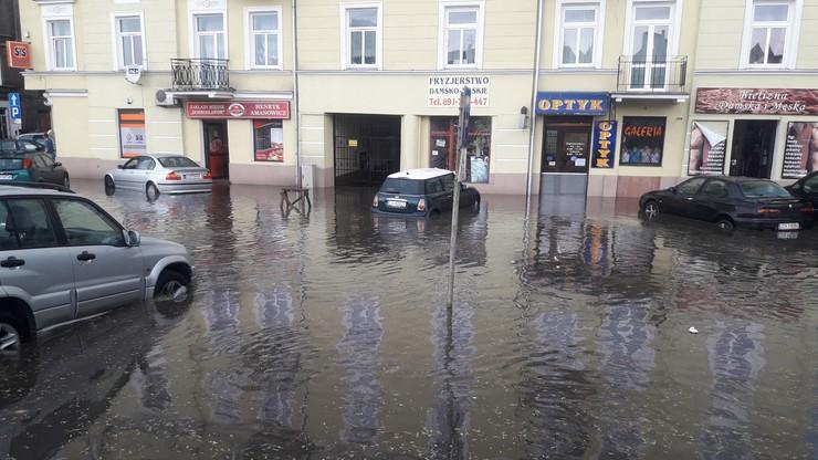 2017-06-29 Oberwanie chmury w Lublinie