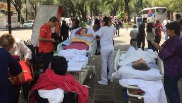 2017-09-19 Silne trzęsienie ziemi na południu Meksyku. Zniszczenia mogą być katastrofalne