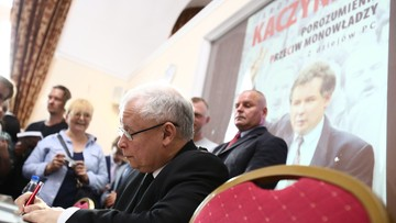 """13-07-2016 23:12 """"Subiektywne ujęcie kawałka polskiej historii"""". Kaczyński o swojej książce"""