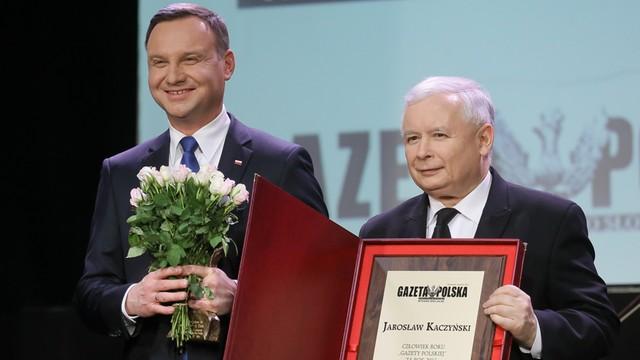 Jarosław Kaczyński - Człowiekiem Roku Gazety Polskiej