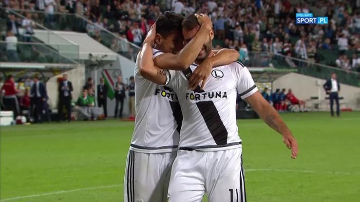 Nikolic podwoił prowadzenie Legii! Gol Węgra na 2:0