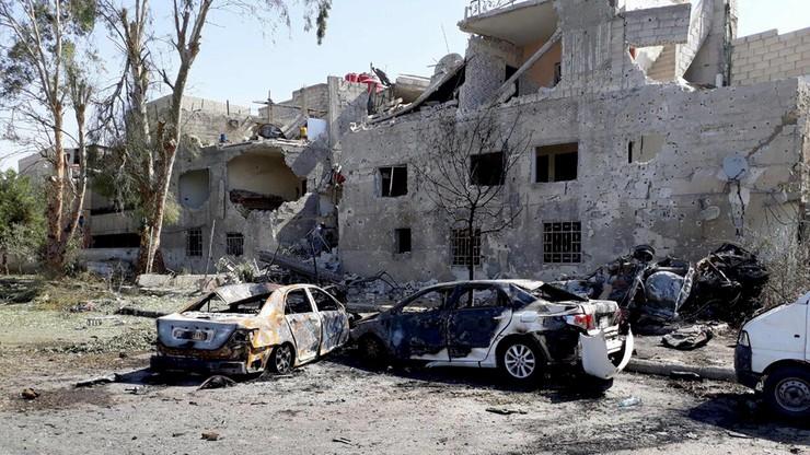 Zamach samobójczy w centrum Damaszku. Są ofiary