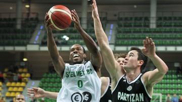 2016-12-20 Liga Mistrzów: Stelmet przegrał z Partizanem
