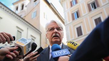 01-03-2016 12:05 Szef MSZ: Polska może wprowadzić w lipcu kontrole na granicach