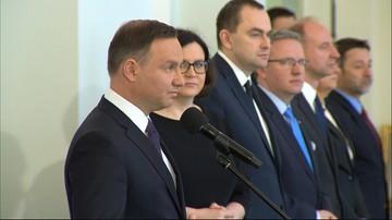 28-04-2016 11:38 Prezydent przyjął ślubowanie od sędziego TK Zbigniewa Jędrzejewskiego